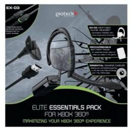Gioteck Elite Essentials Pack, Xbox 360 ELPXB3-11-M0