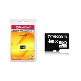 Transcend 4GB microSDHC Card
