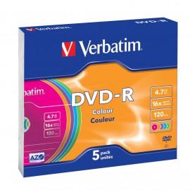 Verbatim DVD-R Colour 43557