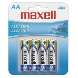 Maxell Kit 24x AA Cell LR-6 MXL 4pk