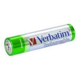Verbatim AAA Premium Rechargeable Batteries 49942