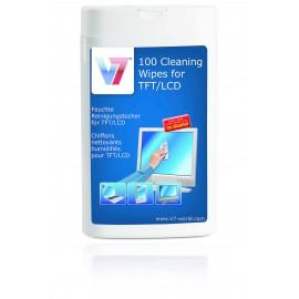 V7 TFT & LCD Toallitas de limpieza VCL1522