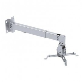 TooQ soporte pared proyect. inclinable-extens. Plata PJ4012WT-S