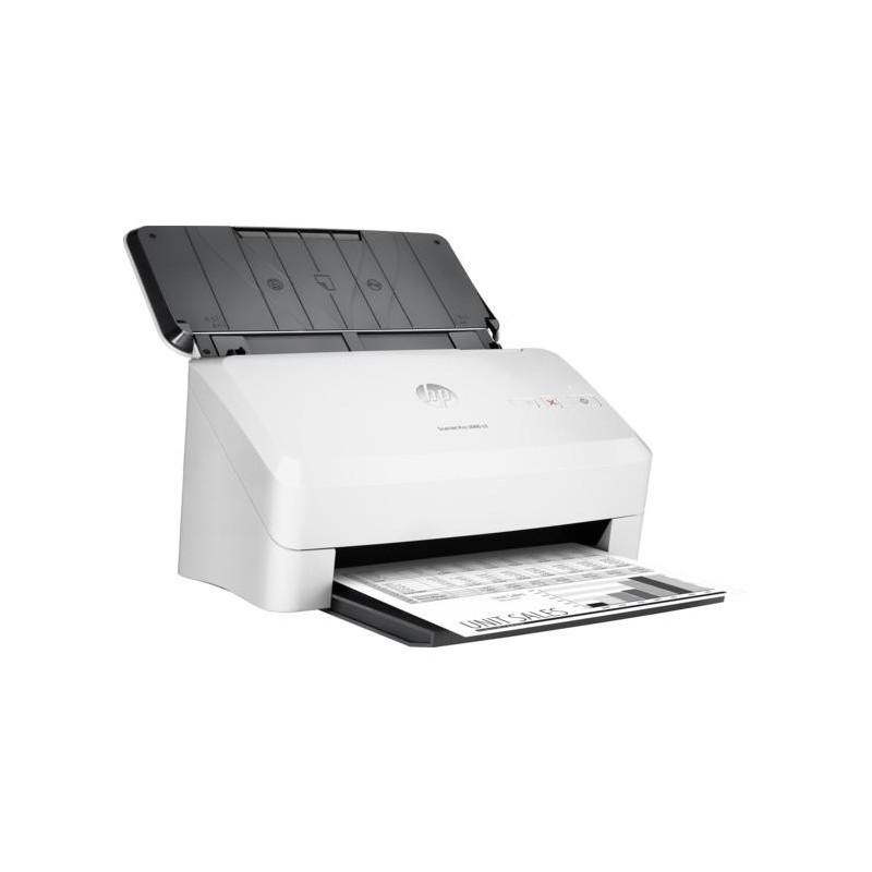 Escaners - Hp Scanjet Pro 3000 S3 Base Plana Y Adf 600 X 600dpi A4 Color Blanco - hp - ebay.es