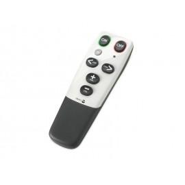 Doro HandleEasy 321rc Botones Negro, Color blanco mando a distancia 4155