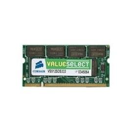 Corsair 1GB DDR2 SDRAM SO-DIMMs 1GB DDR2 533MHz VS1GSDS533D2
