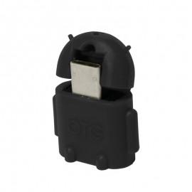 LOGILINK OTG MICROUSB-M A USB-H NEGRO AA0062