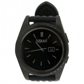 IGGUAL Smartwatch EVO1 1.2 IPS BT4.0 Negro IGG313824