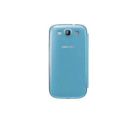 Samsung EFC-1G6FLEC Flip Cover for Samsung Galaxy S3 (Light Blue)