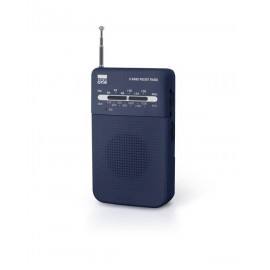 MUSE NEW ONE MINI RADIO PORTATIL NEGRA R 206 W