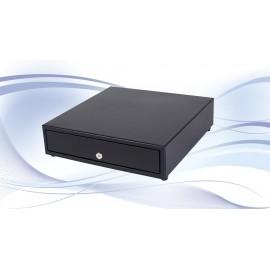 International Cash Drawer 3S-423 Acero inoxidable, Acero Negro