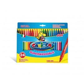 Carioca Joy Fine Multicolor 24pieza(s) rotulador 40615