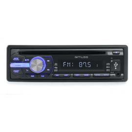 MUSE AUTORRADIO CD MP3 USB  M-1009 MR