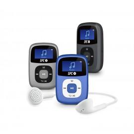 SPC Reproductor MP3 Clip 8644S 4GB Plata