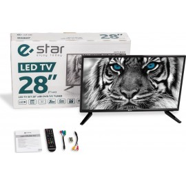 eSTAR LED TV 28 D1T1 28 HD Negro LED TV LEDTV28D1T1