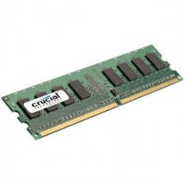 Crucial 1GB DDR2 CT12864AA800 800MHZ