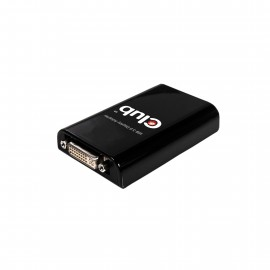 Club3D ADAPTADOR GRAFICO DE USB 3.0 A DVI