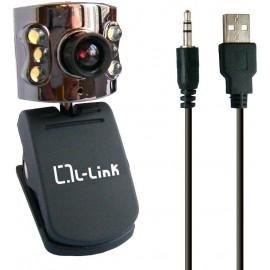WEBCAM L-LINK LL-4184 5MPX MICROFONO NEGRA