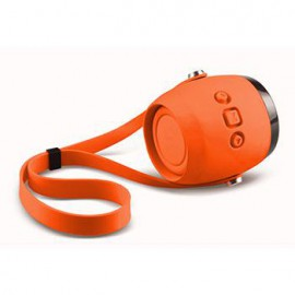 LEOTEC MINI BLUETOOTH AQUA  2W NARANJA