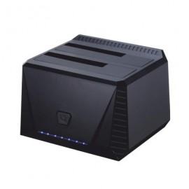TooQ DOCK STATION SATA 2.5/3.5 A USB 3.0 CLONE OTB NEGRO TQDS-902B