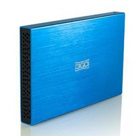 3GO HDD25BL13 AZUL  2,5 SATA--USB