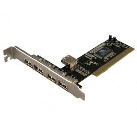 LogiLink 4+1-port USB 2.0 PCI Card PC0028