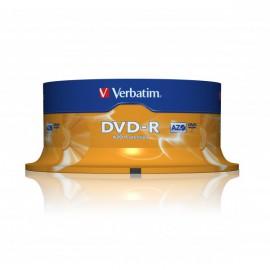 Verbatim DVD-R Azo 25 Unidades