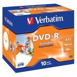 Verbatim DVD-R 4.7GB 10 Unidades