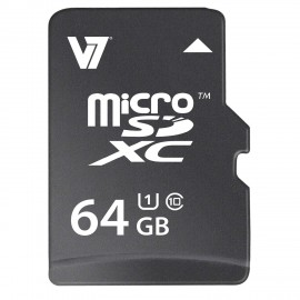 V7 Micro SDXC Memoria 64GB UHS-1 VAMSDX64GUHS1R-2E