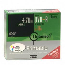 Intenso DVD-R 4.7GB, Printable, 16x 4801652