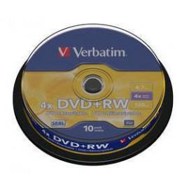 Verbatim DVD RW Matt Silver 43488