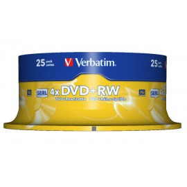 Verbatim DVD RW Matt Silver 43489