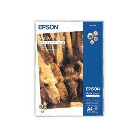 Epson Matte Paper Heavy Weight, DIN A4, 167 g m C13S041256