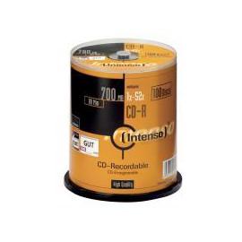 Intenso CD-R 700Mb 52x spindel (100) 1001126