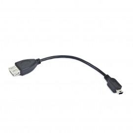 Gembird USB mini/USB 0.15m A-OTG-AFBM-002