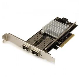 StarTech.com Tarjeta PCI Express de Red de Fibra de 10GB con 2 Puertos de SFP+ Abiertos PEX20000SFPI