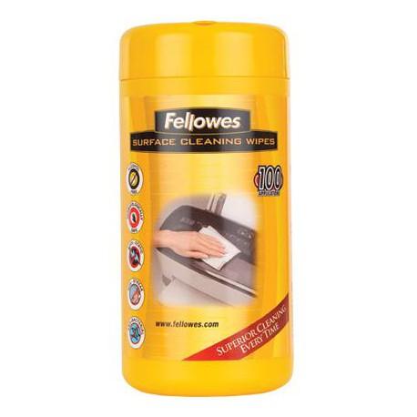 Toallitas húmedas limpieza superficies