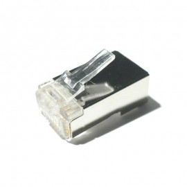 CONECTOR RJ45 CATEGORIA 5 FTP 10UN