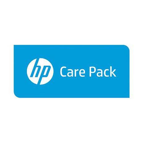 Hewlett Packard Enterprise 1y PW Nbd Exch1xx Wrls Rtr pdt FC SVC U4CP9PE