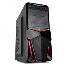 NOX Pax Red edition Midi-Tower Negro NXPAXR