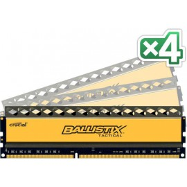 Crucial Ballistix Tactical  32GB DDR3 8GBx4 PC3-12800 1600 240pin
