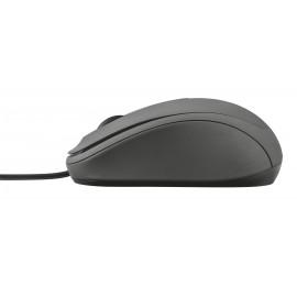 Trust 21508 USB Óptico 1000DPI Negro 21508