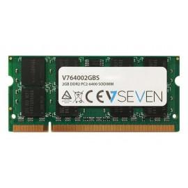 V7 2GB DDR2 800MHZ CL6 2GB DDR2 800MHz V764002GBS