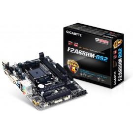 Gigabyte GA-F2A68HM-DS2 AMD A68H Micro ATX Socket FM2+ GA-F2A68HM-DS2