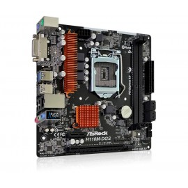 Asrock H110M-DGS R3.0 Intel H110 LGA1151 Micro ATX 90-MXB4B0-A0UAYZ