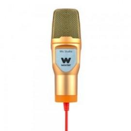 Woxter Mic-Studio Studio microphone Alambrico Oro, Naranja WE26-020