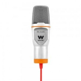 Woxter Mic-Studio Studio microphone Alambrico Naranja WE26-021