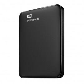 Western Digital WD Elements Portable USB Type-A 3.0 (3.1 Gen 1) 750GB Negro WDBUZG7500ABK-WESN