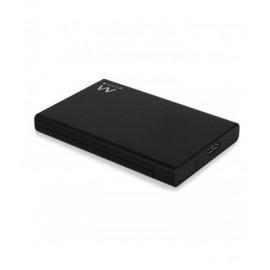 Ewent EW7044 HDD/SSD enclosure 2.5'' Negro EW7044