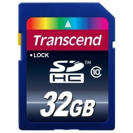 Transcend - tarjeta de memoria flash - 32 GB - SDHC